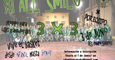 VUELVE EL XI 3×3 ALL SMILO EL 3 DE JUNIO.