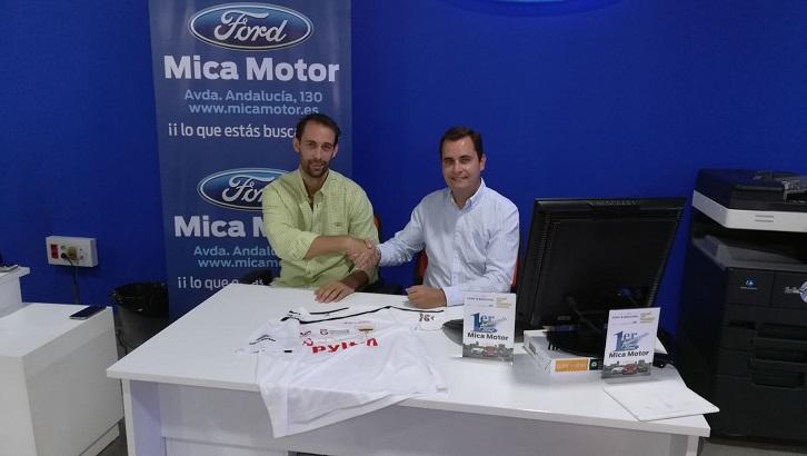 MICA MOTOR FORD Y MOTORDOS NUEVOS PATROCINADORES.