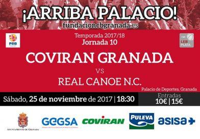 COVIRAN GRANADA NO PUEDE FALLAR ANTE REAL CANOE.