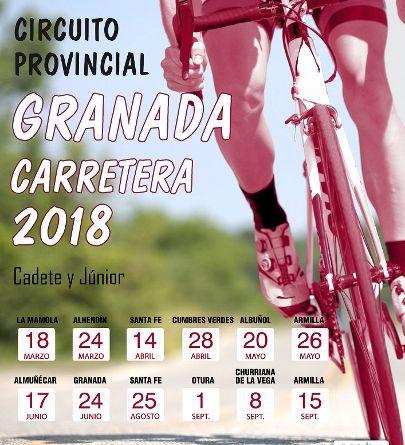 PRESENTADOS LOS CIRCUITOS PROVINCIALES DE GRANADA CARRETERA 2018.