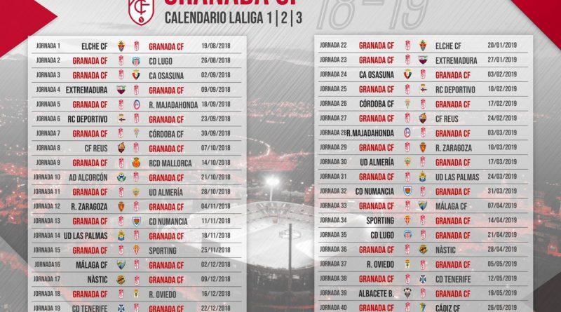 Calendario Escolar Granada 2020 19.Calendario Cadiz Cf