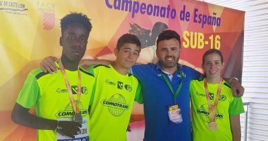 GRAN RESULTADO DE ELBA GARCÍA Y MICHAEL CARRASCO EN EL CTO. ESPAÑA U16.
