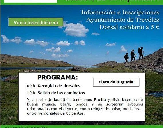 300 SENDERISTAS EN TREVÉLEZ A FAVOR DE LA INVESTIGACIÓN DEL SÍNDROME DE ONDINE.