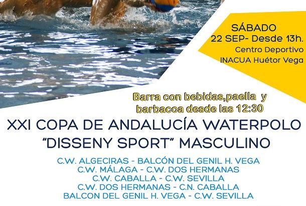 INACUA BALCÓN DEL GENIL HV ANFITRIÓN DE LA XXI COPA ANDALUCÍA DE WATERPOLO.