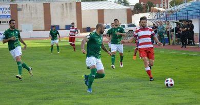 EL RECREATIVO GRANADA CAE EN LA RECTA FINAL ANTE EL VILLANOVENSE, 1-0.