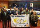 GRANADA RECOGE EN BRUSELAS LA BANDERA QUE LA ACREDITA COMO `CIUDAD EUROPEA DEL DEPORTE´