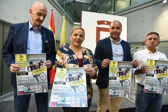 MÁS DE 350 CICLISTAS PARTICIPARÁN EN LA PRIMERA CARRERA BENÉFICA CONTRA EL CÁNCER DE COLÓN EN OTURA.