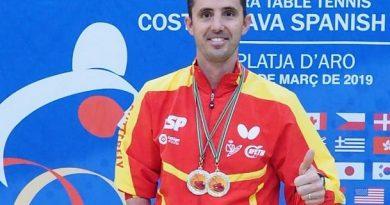 JOSÉ MANUEL RUIZ COMPLETA EL DOBLETE EN LA SPANISH COSTA BRAVA.