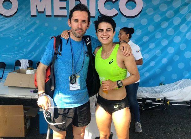MARÍA PÉREZ TERCERA EN EL GP DE MÉXICO.