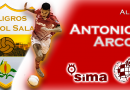 ANTONIO ARCO, RENUEVA CON SIMA PFS.